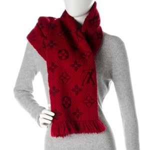 💯% AUTH Louis Vuitton Logomania Scarf